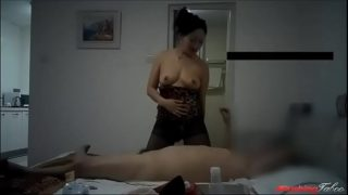 Chinese Mom with Magic Tongue