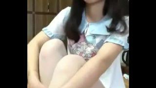teen chinese white stocking