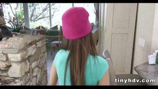 Teenie tiny girl fucked silly Riley Reid 2 91