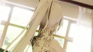 (MMDR-18)【EEVEE_布料解算】TDA Haku Lamb 蝶