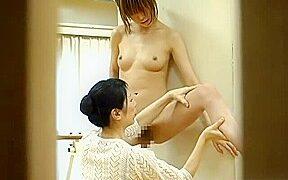 Japanese lesbian ballet teacher sex with student